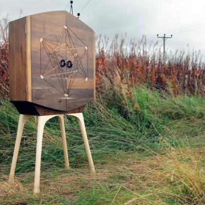 Fumed Oak Cabinet Field Edge - Tom Foottit Contemporary Carpentry