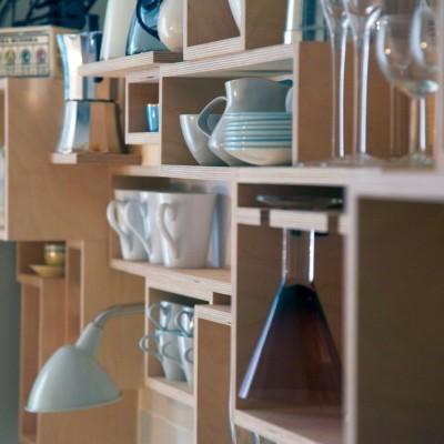 Lauras Wall - Tom Foottit Contemporary Carpentry