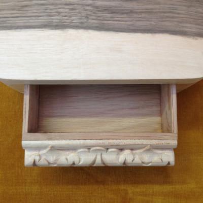 Walnut Box Detail - Thomas Foottit Contemporary Carpentry