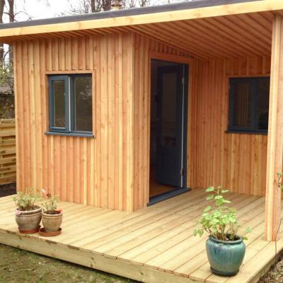 Larch Garden Studio - Thomas Foottit Contemporary Carpentry
