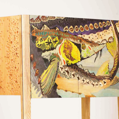Sturgeon Cab Front - Tom Foottit Contemporary Carpentry