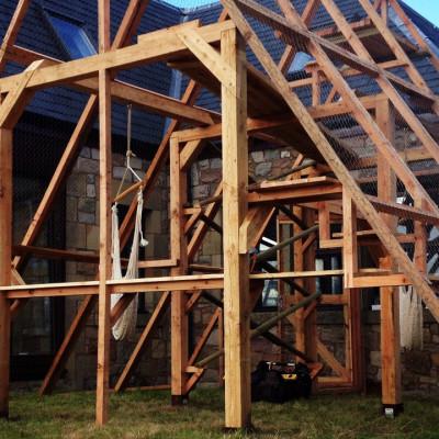 Bengal Cat Enclosure - Thomas Foottit Contemporary Carpentry