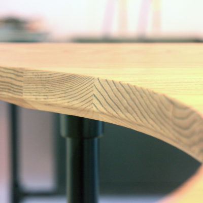 L&C Bar detail - Tom Foottit Contemporary Carpentry