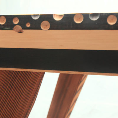 Maple Table Detail - Tom Foottit Contemporary Carpentry