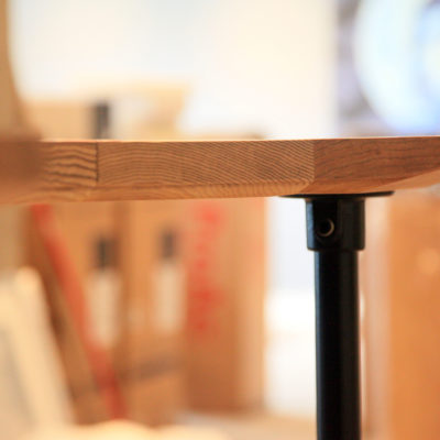 L&C Bar End Detail - Tom Foottit Contemporary Carpentry